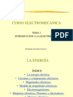 Curso Electromecanica Clase 1