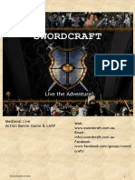 Swordcraft Simplified Rules 2013-08-23
