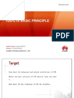 TDD-LTE Basic Principle 20130204