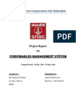 Consumables management system