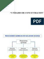 CLASE 8- Unidades de Concentracion y Soluciones