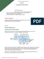 Lesson 4_ Coagulation and Flocculation