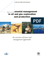 Environmental Management-Oil and Gas Exploration