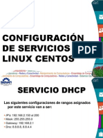Configuración de Servicios en LINUX CENTOS