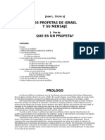 Sicre Jose - Los Profetas de Israel Y Su Mensaje