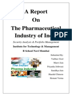 Pharma Industrial Analysis