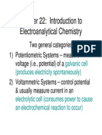 Instrumental Lecture 22 Electrochem