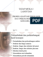 Proses Adaptasi Fisiologis & Psikologis Dalam Masa Kehamilan