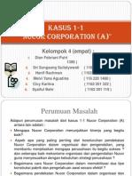 Kasus 1-1 Nucor Corporation