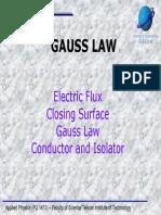 Chap 3 Gauss Law Slide