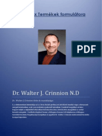 dr walter j crinnion letrajza
