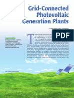 Grid Connected phatovoltaic Plant