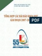 Cac Bai Bao Khoa Hoc 2007-2012 (Phan II CUNG CAP DIEN)
