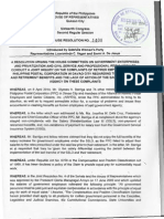 HR 1408 - Inaction of Philippine Postal Corp on Complaints of Former Employees