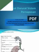 Gawat Darurat Sistem Pernapasan 2014