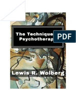 Technique of Psychotherapy