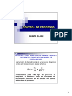 Control de Procesos-quinta Clase