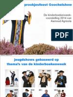 Kinderboekenweek 2014 voorstelling Sprookjesfeest Goochelshow Merlijn door Aarnoud Agricola goochelaar en buikspreker
