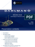 MILENA-OLGA technology at industrial scale