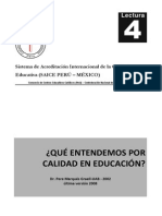 05 Lectura 04 - Qué Entendemos Por Calidad en Educación