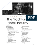 the traditional hotel industry