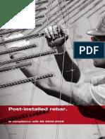 Post Installed Rebar