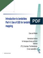 Landslides and GIS