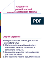 Organisation and Household Decision Making