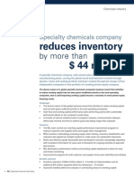 SD Chemical Case Study for MBA students