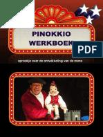 Pinokkio Werkboek van schoolgoochelaar Aarnoud Agricola buikspreker