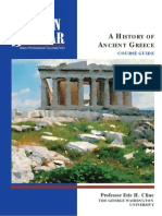 The history of ancient Greece