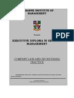 ZIM - Company Law Module