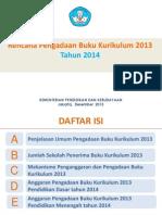 Rencana Pengadaan Buku Kurikulum Bahan Paparan Dirjen H.sahid1 3des Final