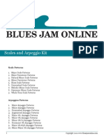 Guitar Scales and Arpeggios