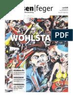 Wohlstand - Ausgabe 15 2014 des strassenfeger