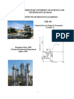 CHE451_Chemical Process Design and Economics