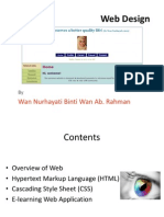 Web Design - Course by Wan