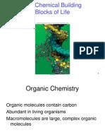Chemical Bldg Blocks of Life Chapter 3
