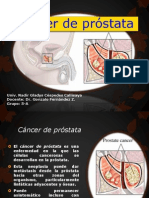 Cancer de Próstata Trabajo