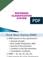 Rockmass Classification System