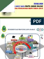 RKPD Jabar Online 25 Februari 2014