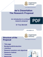 Research Proposal Structure
