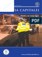 Revista Politia Capitalei - August 2014