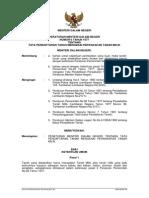 Peraturan Menteri Dalam Negeri Nomor 6 Tahun 1977 tentang Tata Cara Pendaftaran Tanah mengenai Perwakafan Tanah Milik