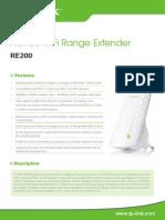 RE200(EU V1 Datasheet