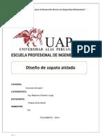 Diseño de Zapata Aislada