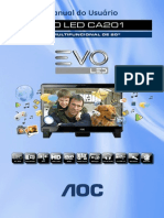 Manual Evo LED CA201