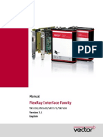 FlexRay Interface Family Manual En