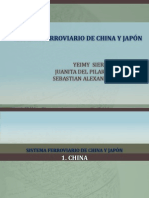 Ferrocarriles China y Japon