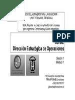 872 S1P1 DirecciOn Estrat de Operaciones